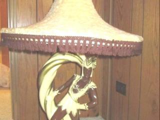 (3) Ceramic Lamp W/Lamp Continental...
