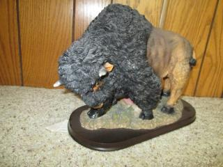 Buffalo Statue 12