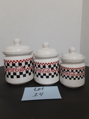 COCA COLA CANISTERS