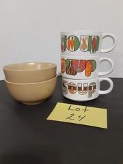 SOUP CUPS & BOWLS