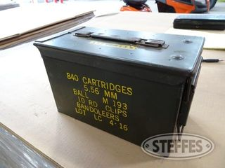 Ammo box w 22 caliber 12 gauge shells 1 jpg