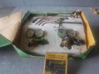 Victor Welding Torch and Gauge Set