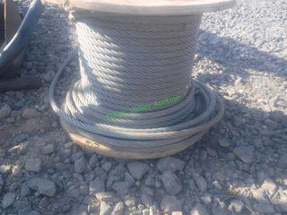 "Galvanized 5/8"" Cable- Partial Spool"