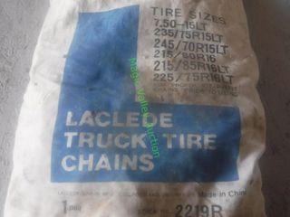 Unused/Unopened LT Tire Chains