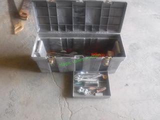 Assorted Tools & Tool Box