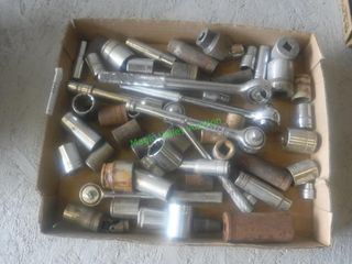 Assorted Sockets & Drivers