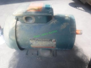 Reliance 3 Phase 1.5HP Electric Motor
