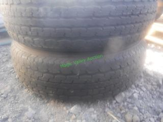 2- Power King Tires 225/75 R15