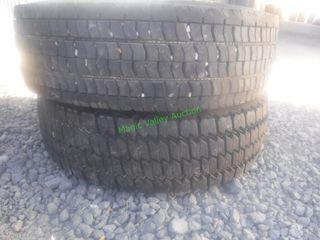 2- 245/70 R 9.5 Tires