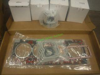 New/Unused Head Gasket Set & Pistons B Model