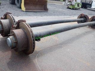 """2- Axles ~79"""", 6 Lug"""