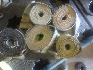 10 Semi Truck/Trailer Winch Tie-Down Straps