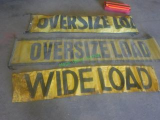 Oversize Load Signage- Safety Triangles