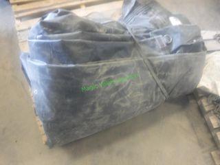Semi Trailer Lumber Tarp ~26' X 28' ~ 9' Flap