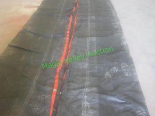 Semi Trailer Lumber Tarp ~28' X 27' ~ 9' Flap