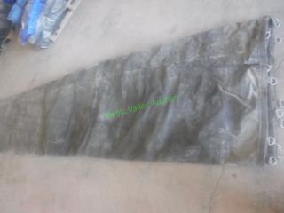 Semi Trailer Lumber Tarp ~28' X 16'- ~9' Flap