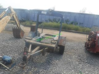Heavy Duty Single Axle Trailer w/ Fuel Reserve