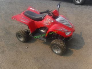 Like New Red Cat 70 MPX Youth ATV.