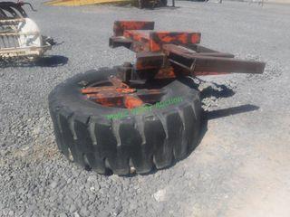 Tire Feed Push Up