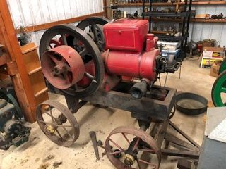 JIM & CATHYE MCCRACKEN RARE GAS ENGINE COLLECTION TIMED ONLINE ONLY AUCTION