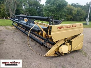 New Holland 972 bean head, 22', Crary sections and