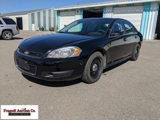 2012 Chevrolet Impala police car, 93,694 miles, 17