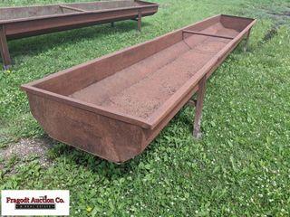 Mack Steel 20? feed bunk, believed to be 14-gauge
