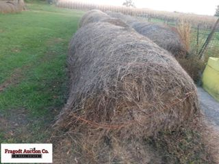 21 Bales of Grass Hay Baled with New Holland 640 B