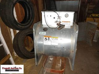 SuKup Burner for Corn Dyer, Used 1 Season and Fan