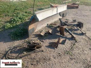 8' Snowplow for Pickup, Includes Mounts that came