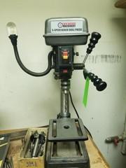5 Speed bench drill press