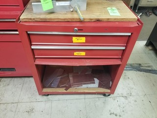 Tool chest base cabinet