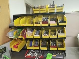 Storage bins of trophy parts