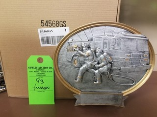 Firemen Plaques/Trophy