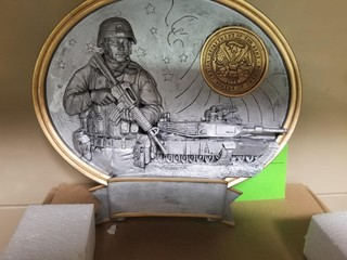Army plaque/trophy