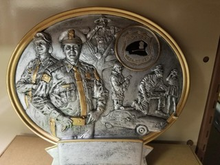 Police Plaque/trophy