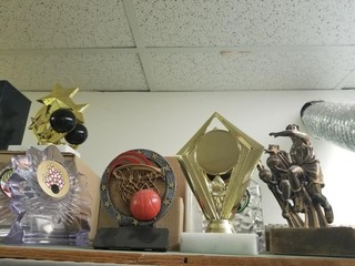 Basketball & Bowling Trophies