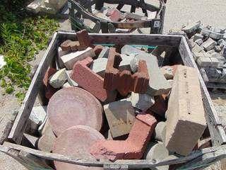 Assorted Paver and Edge Paver Pieces
