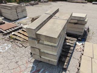 4 Pieces of Precast Concrete