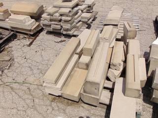 21 Pieces of Precast concrete