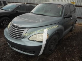 2008 Chrysler Pt cruiser 3A8FY48B58T209662 Gray