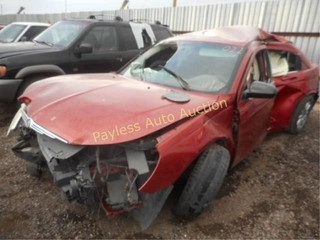 2010 Chrysler Sebring 1C3CC4FB3AN173542 Maroon