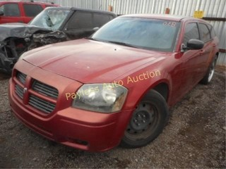 2006 Dodge Magnum 2D4FV47T26H368898 Red