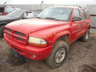 1999 Dodge Durango 1B4HS28Z9XF579585 Red