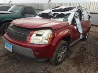 2006 Chevrolet Equinox 2CNDL13F266009681 Red