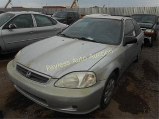 1999 Honda Civic 1HGEJ6226XL049766 Silver