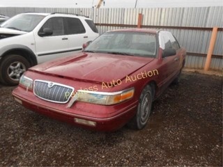1995 Mercury Grand Marquis 2MELM74W6SX624915 Red
