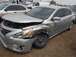 2015 Nissan Altima 1N4AL3AP1FC200696 Silver