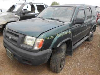 2000 Nissan Xterra 5N1ED28Y9YC611831 Green