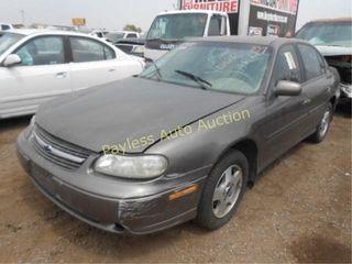 2002 Chevrolet Malibu 1G1NE52J52M604643 Gray